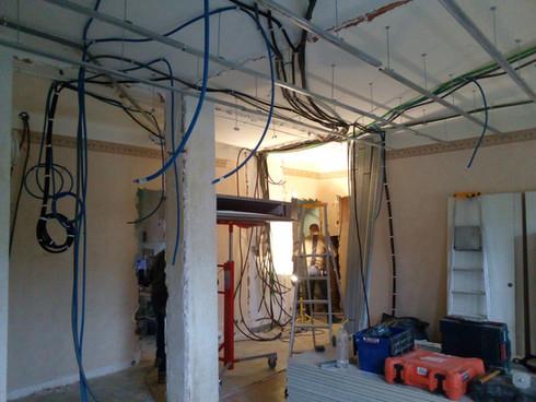 travaux en cours appartement Annecy