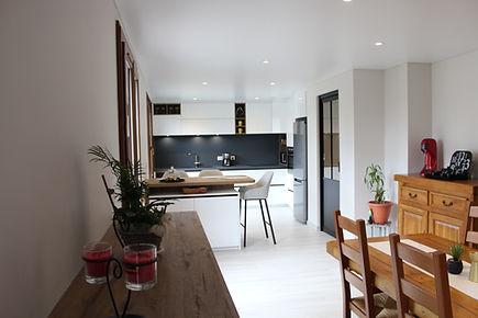 rénovation complete d'un appartement sur Annecy