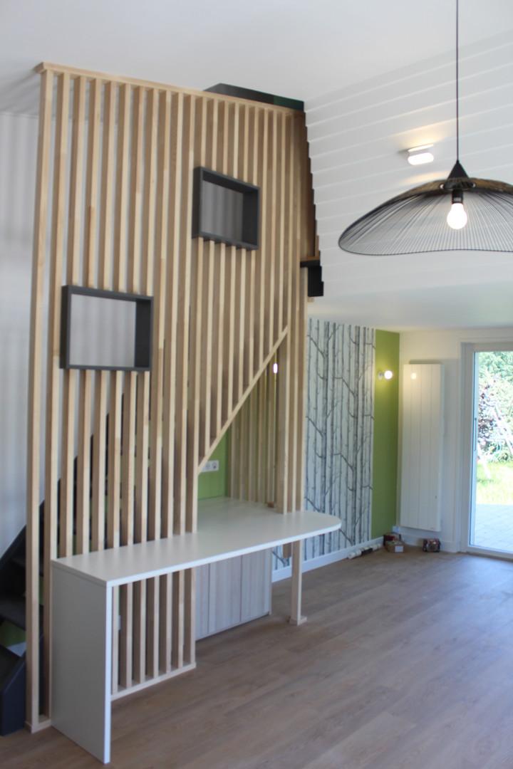 decorationd'intérieur salon villa Sevrie