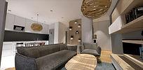 Projet architecte interieur et rénovation interieur terminé , Annecy , Haute-Savoie