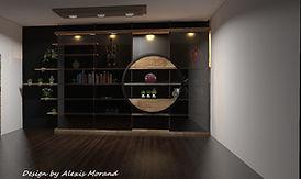 mobilier design sur mesure Annecy 74