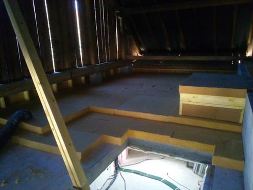 isolation sur dalle renovation combles