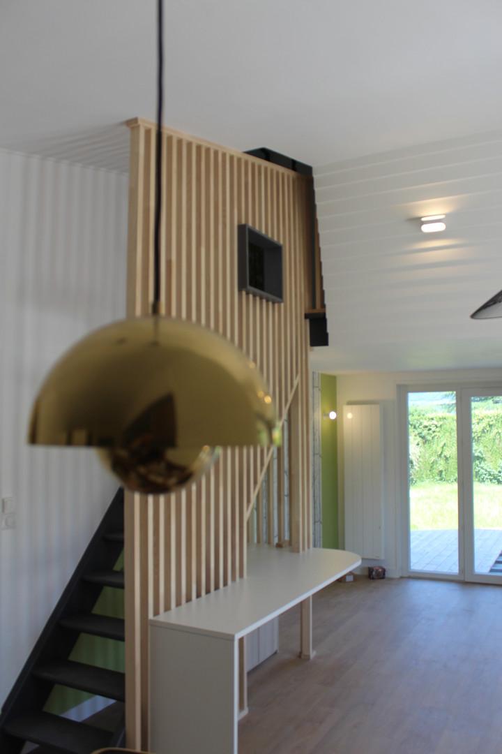rénovation d'intérieur villa Sevrier Hau
