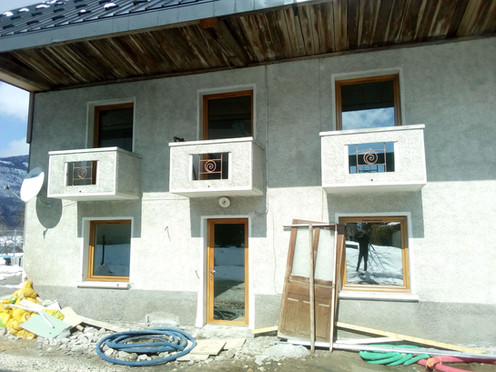 pose fenêtres renovation Bellecombe en B