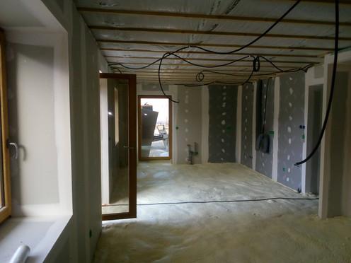 soufflage isolation projetée appartement