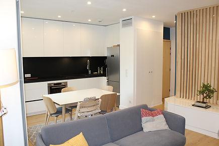 rénovation et agencement intérieur d'un appartement situé en centre ville d'Annecy Haute-Savoie