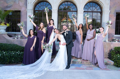 The Howey Mansion - Wedding Party
