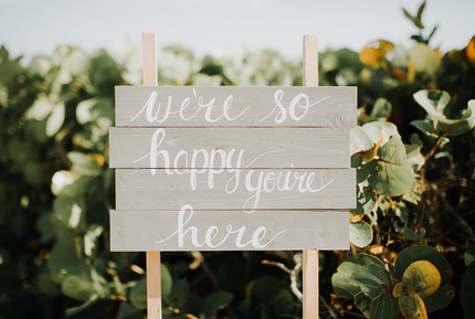 DIY Beach Sign ~ Available for Rent