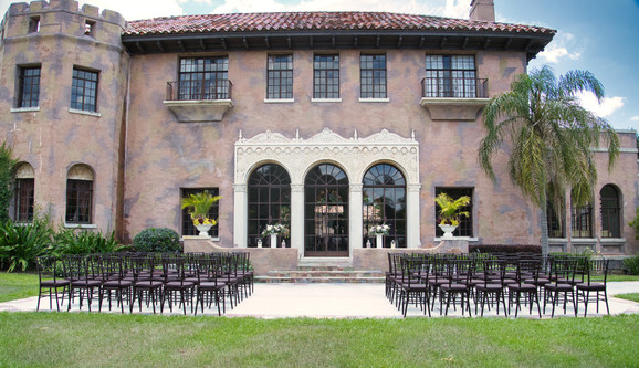 The Howey Mansion - Ceremony
