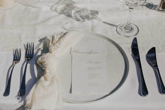 The Capen House - Table Scape by The Bridal Binder