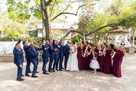 Dr. Phillips House - Wedding Party
