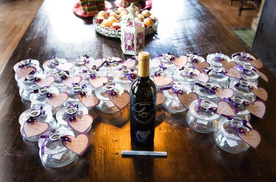 The Howey Mansion - Dessert Table Favors / Set-up by The Bridal Binder
