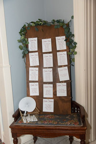 Dr. Phillips House - DIY Table Assignment Board