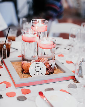 Sand Dollar Table Numbers