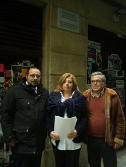 José A. Méndez con Consuelo Ordoñez