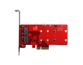ELPS-32R1 PCIe to dual M.2 RAID Module