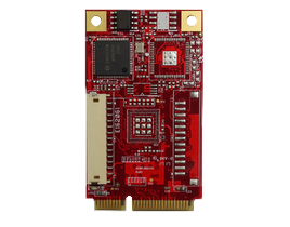 EMPL-G102 mPCIe to single isolated GbE LAN horizontal Module