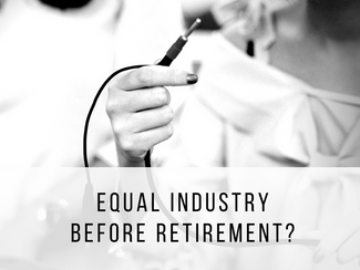 Equal industry before retirement?