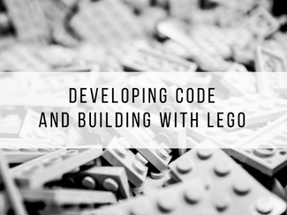 Developing code and building with Lego
