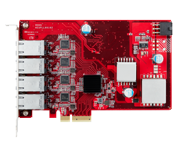 ESPL-G4P1 PCIe to four isolated PoE/PoE+ Module