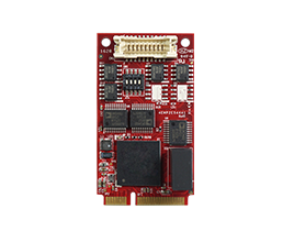EMP2-X4S1 mPCIe to four Isolated RS-485 Module