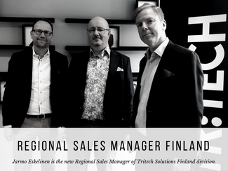 Jarmo Eskelinen as new Regional Sales Manager