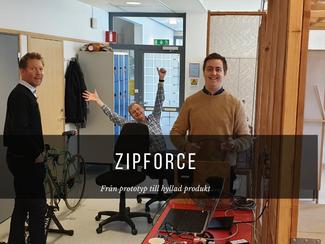 Zipforce - från prototyp till CE-märkt produkt