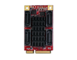 EMPS-3401 mPCIe to four SATA III Module