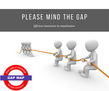 Please mind the gap – Efficient innovation by visualization