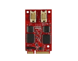 EMU2-X2S1 USB to Dual Isolated RS-232 Module
