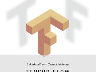 Teknikkväll om Tensor Flow