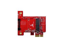 ELPP-0101 PCIe x 1 to mPCIe Module
