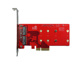 ELPS-3201 PCIe to dual M.2 Module