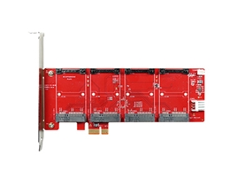 ESPP-2401 PCIe to four mPCIe Module