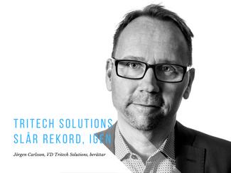 Tritech Solutions slår rekord, igen