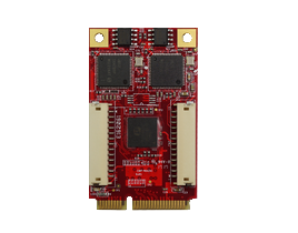 EMPL-G202 mPCIe to dual isolated GbE LAN horizontal Module
