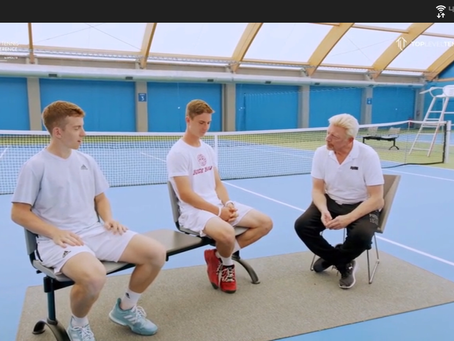 Boris Becker Emphasizes Proper Attitude, Mental Toughness To Players of All Ages