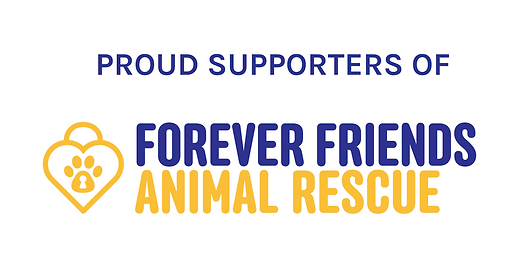 Forever Friends Animal Rescue Banner