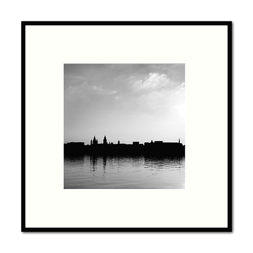 Mainz Silhouette 50x50cm Limited Edition