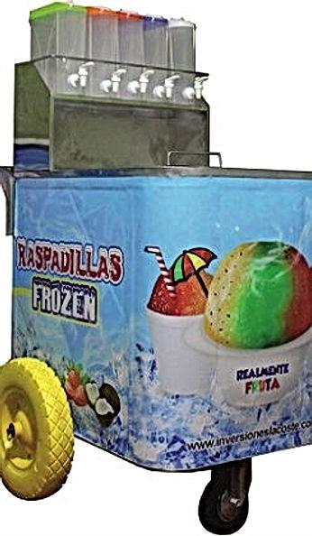 Carrito-Raspadillero, Carrito-Para-Venta-De-Raspadillas, Carreta-Para-Vender-Raspadillas /Perú