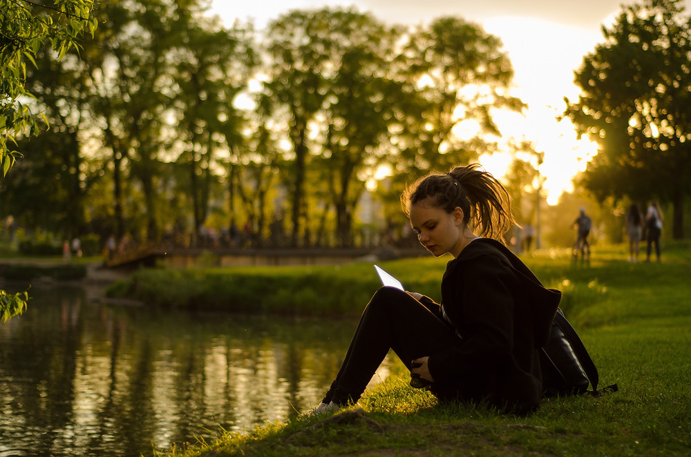 The summer is the best time to grab a book and be in nature.