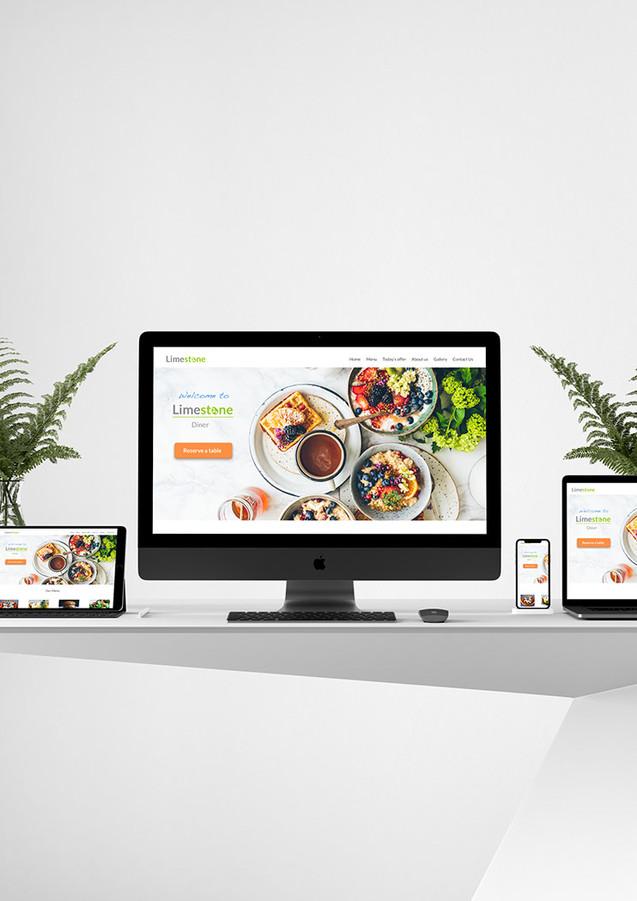 Limestone Diner_UI design