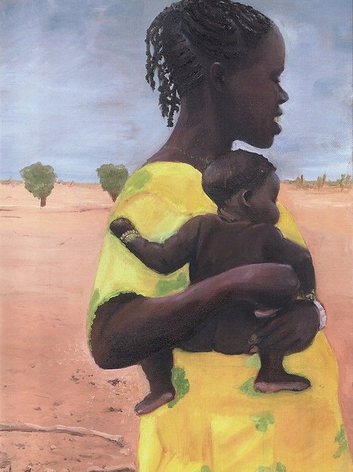 People Painting - Motherhood