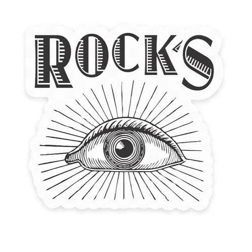 Rock's Sticker- pack of 2