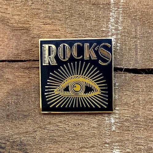 Rock's Enamel Pin