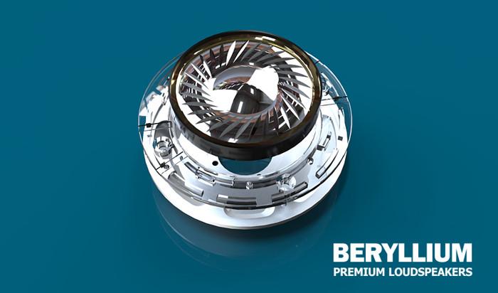 Accutone's Beryllium Speakers