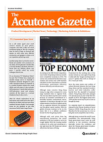 Accutone Newsletter June 2016