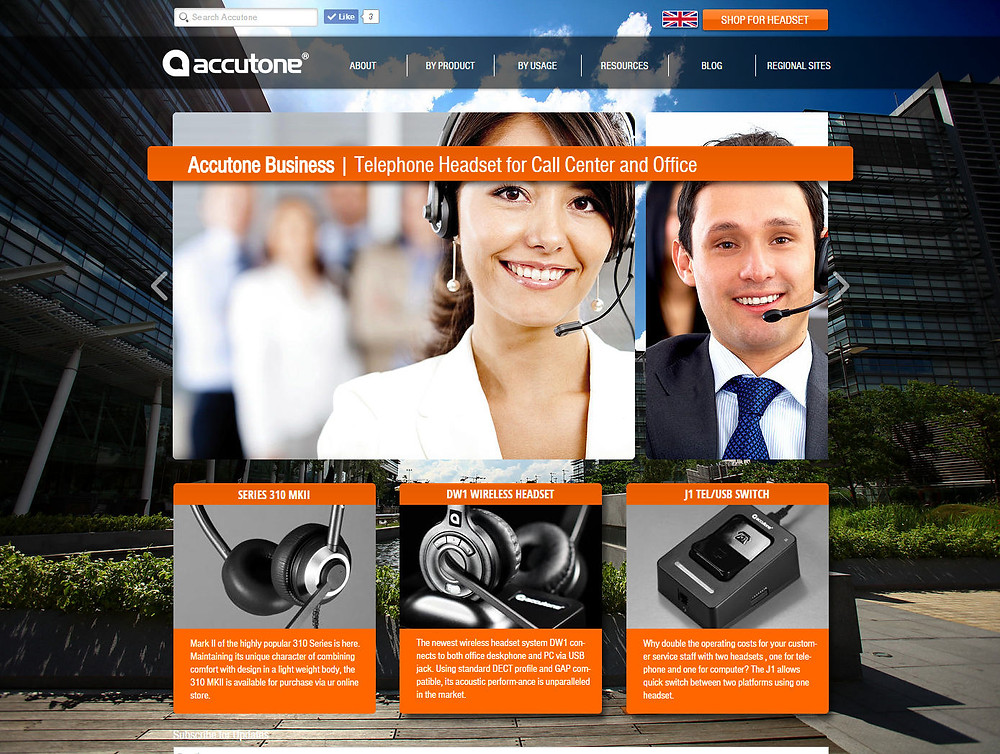 Accutone Business Site