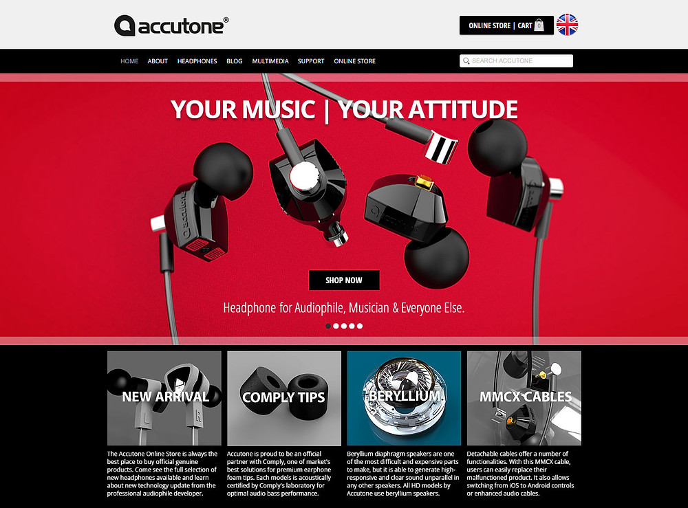 Accutone Audio Site