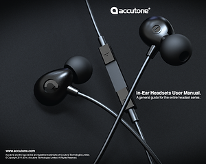 Accutone Headphone User Manual
